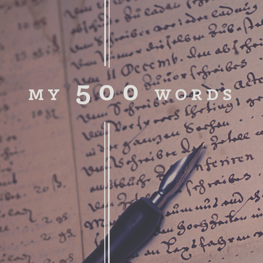#my500words www.amandablum.com