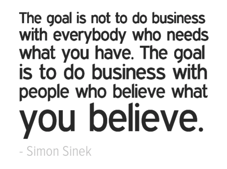 Find your why -simon sinek quote brand storytelling www.amandablum.com singapore